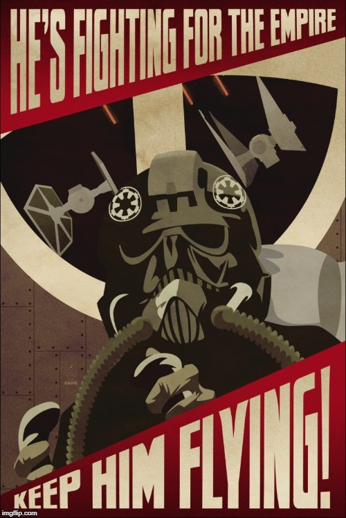 image tagged in star wars,propaganda | made w/ Imgflip meme maker
