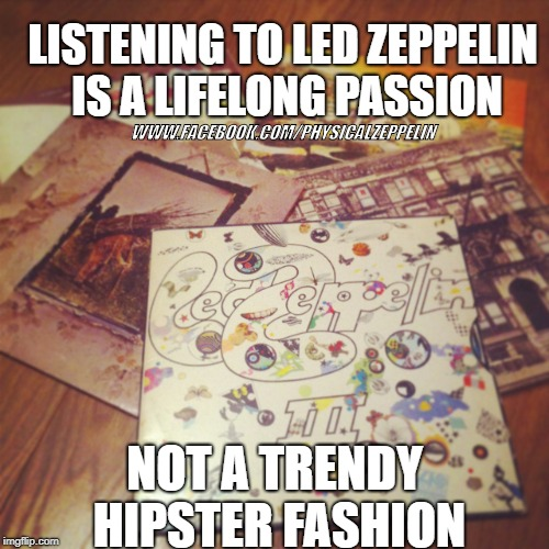 WWW.FACEBOOK.COM/PHYSICALZEPPELIN | image tagged in led zeppelin,playing vinyl records | made w/ Imgflip meme maker