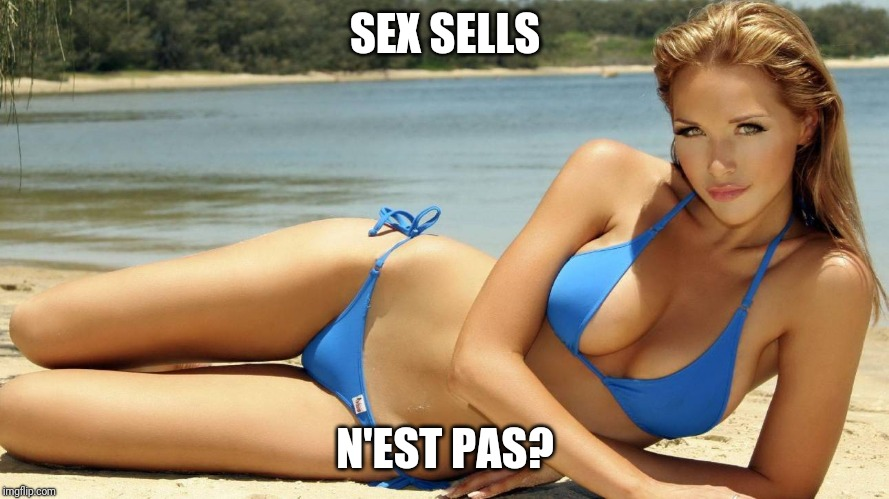 Y So Many Gratuitous Memes? | SEX SELLS N'EST PAS? | image tagged in sexy girl | made w/ Imgflip meme maker