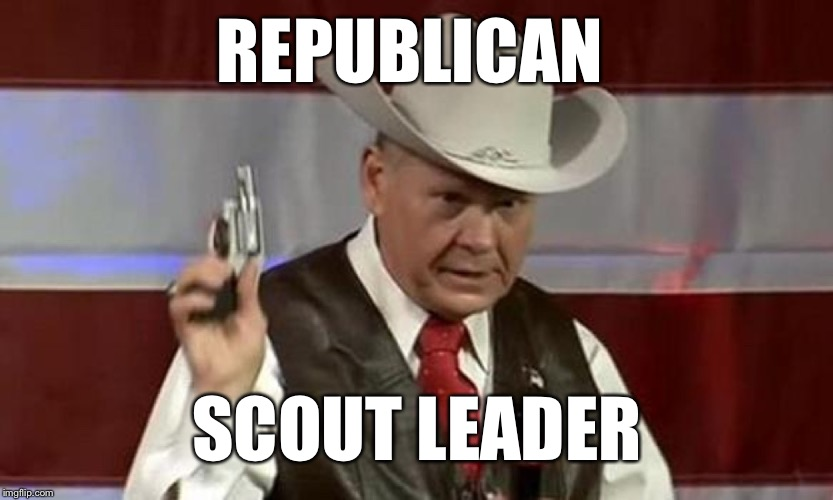 REPUBLICAN SCOUT LEADER | made w/ Imgflip meme maker