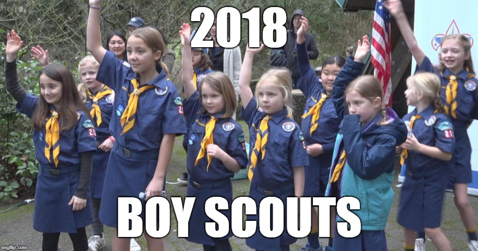 2018 BOY SCOUTS | made w/ Imgflip meme maker