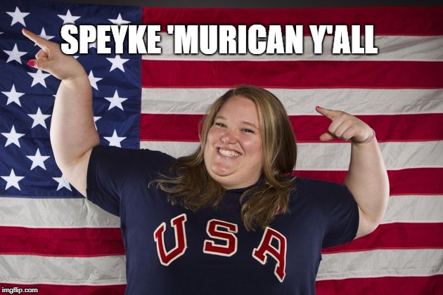 SPEYKE 'MURICAN Y'ALL | made w/ Imgflip meme maker