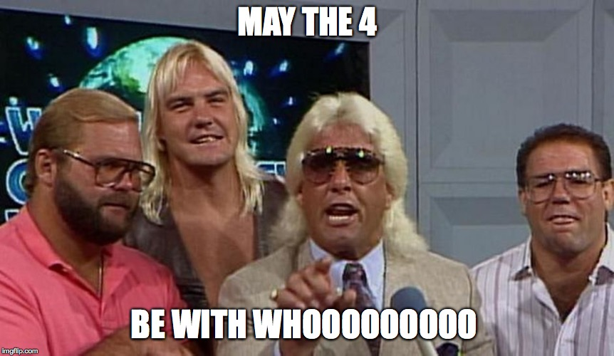 MAY THE 4 BE WITH WHOOOOOOOOO | image tagged in may the 4th be with whooooo | made w/ Imgflip meme maker