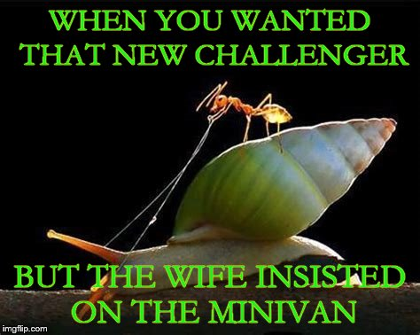 """OOOH let's get a Honda Odyssey"", said no guy ever.  