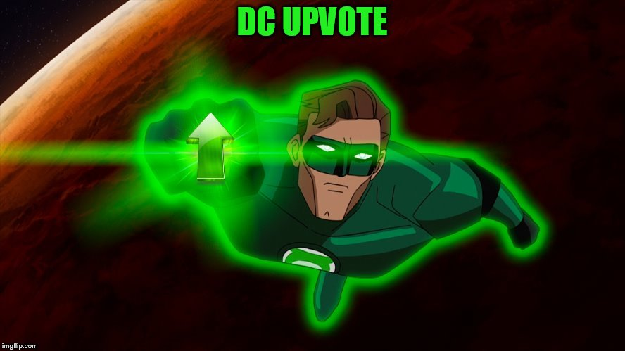 DC UPVOTE | made w/ Imgflip meme maker