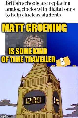 "This Episode with the Digital Elizabeth Tower was Titled ""Lisa's Wedding"" and Aired March 19, 1995 