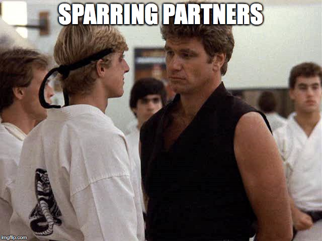 SPARRING PARTNERS | made w/ Imgflip meme maker