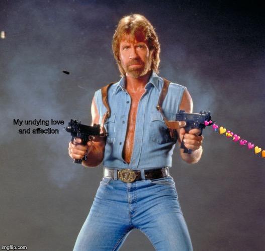 Chuck Norris Guns Meme Imgflip