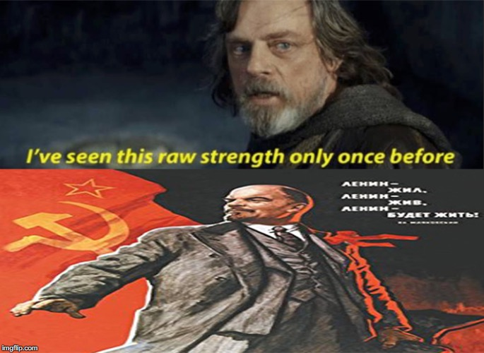 Lenin Strong | image tagged in communism,memes | made w/ Imgflip meme maker