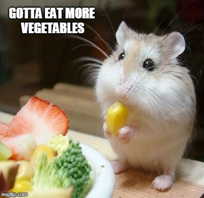 GOTTA EAT MORE VEGETABLES | made w/ Imgflip meme maker