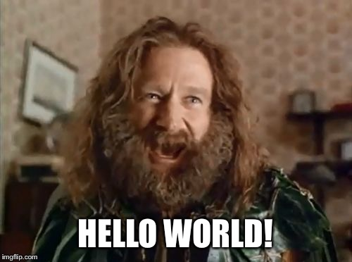 what year is it | HELLO WORLD! | image tagged in what year is it | made w/ Imgflip meme maker