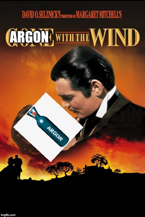 Its an argon pun....its funny......yes it is | image tagged in puns | made w/ Imgflip meme maker