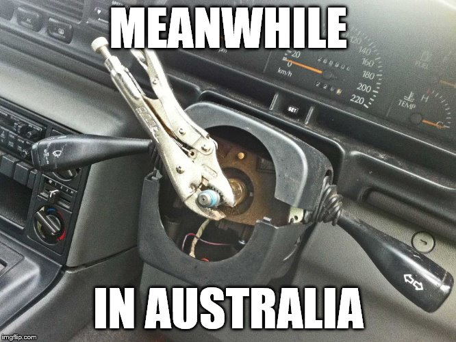 Weight reduction bro | MEANWHILE IN AUSTRALIA | image tagged in australia,cars | made w/ Imgflip meme maker