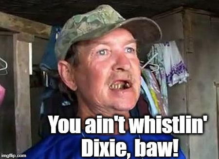 You ain't whistlin' Dixie, baw! | made w/ Imgflip meme maker