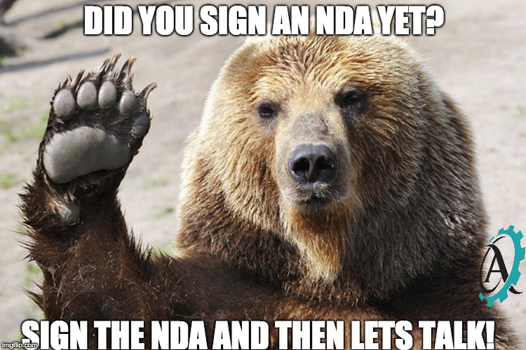stop being a fool | DID YOU SIGN AN NDA YET? SIGN THE NDA AND THEN LETS TALK! | image tagged in stop being a fool | made w/ Imgflip meme maker