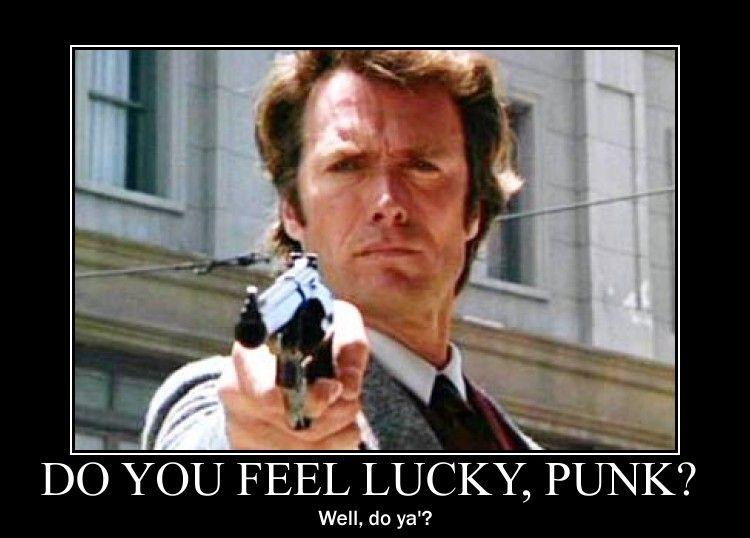 Clint eastwood feeling lucky punk