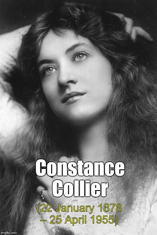Constance Collier (22 January 1878 – 25 April 1955) was an English stage and film actress and acting coach. | Constance Collier (22 January 1878 – 25 April 1955) | image tagged in thinking beauty,constance collier,thanks billbentnickel,wonder what she's thinking,probably not what you're thinking,douglie | made w/ Imgflip meme maker