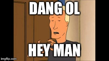 Boomhauer | DANG OL HEY MAN | image tagged in boomhauer | made w/ Imgflip meme maker