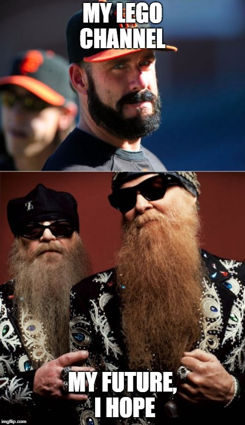 Brian Wilson Vs ZZ Top | MY LEGO CHANNEL MY FUTURE, I HOPE | image tagged in memes,brian wilson vs zz top | made w/ Imgflip meme maker