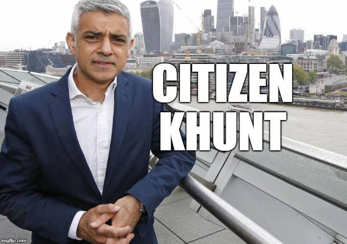 CITIZEN KHUNT | image tagged in khan | made w/ Imgflip meme maker