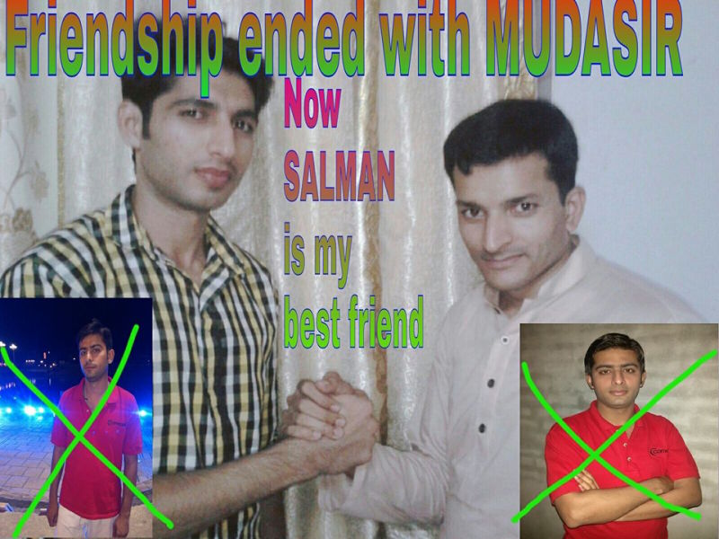 Friendship ended Blank Meme Template