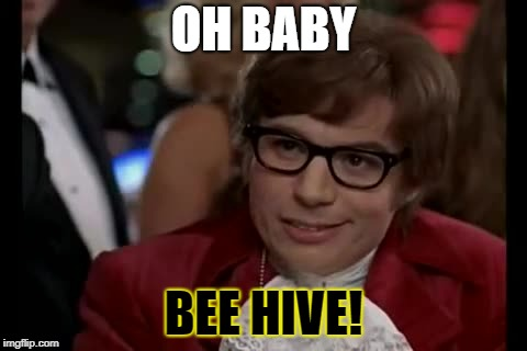 OH BABY BEE HIVE! | made w/ Imgflip meme maker