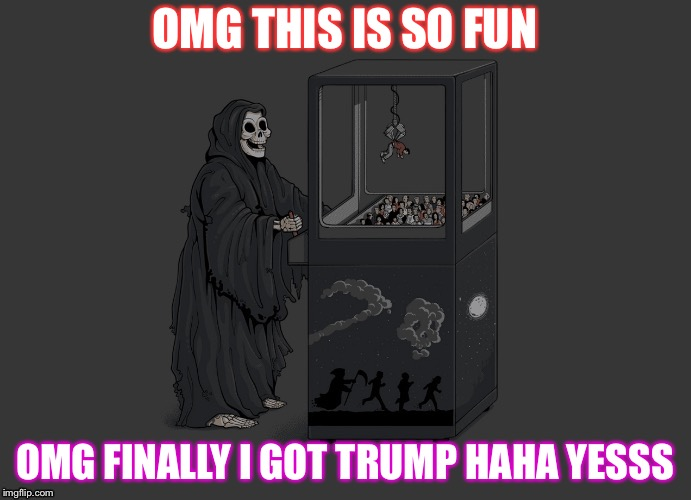 OMG THIS IS SO FUN OMG FINALLY I GOT TRUMP HAHA YESSS | image tagged in haha | made w/ Imgflip meme maker