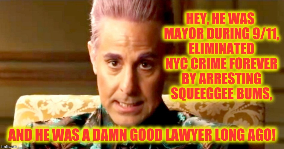"Hunger Games - Caesar Flickerman/Stanley Tucci ""The fact is"" 