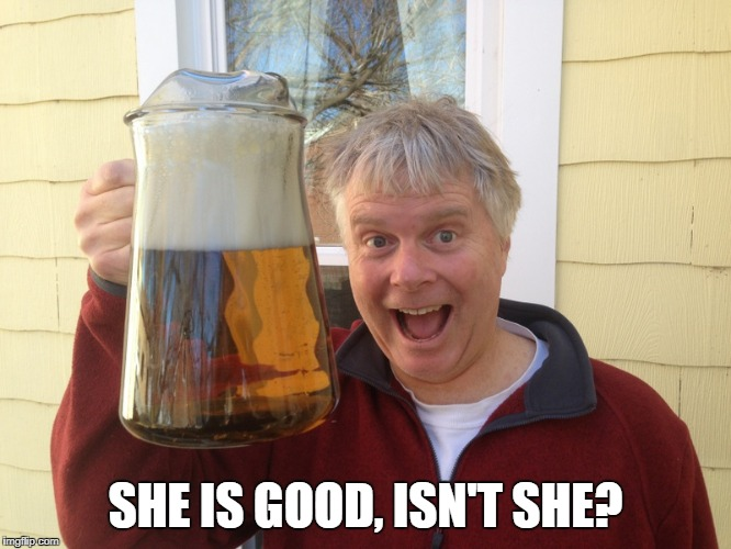 SHE IS GOOD, ISN'T SHE? | made w/ Imgflip meme maker