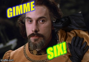 GIMME SIX! | made w/ Imgflip meme maker