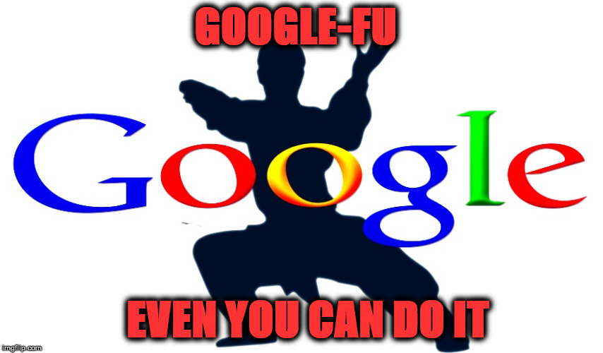 The Power Of Google | GOOGLE-FU EVEN YOU CAN DO IT | image tagged in google fu,google search,u2cangoogle,google it fool,power of google,googled | made w/ Imgflip meme maker