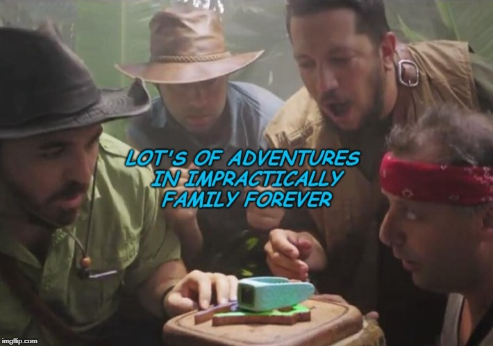 Adventures  | image tagged in impracticaljokers | made w/ Imgflip meme maker