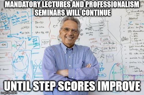 Meme] Med School Administration 101 For Dedicated Study