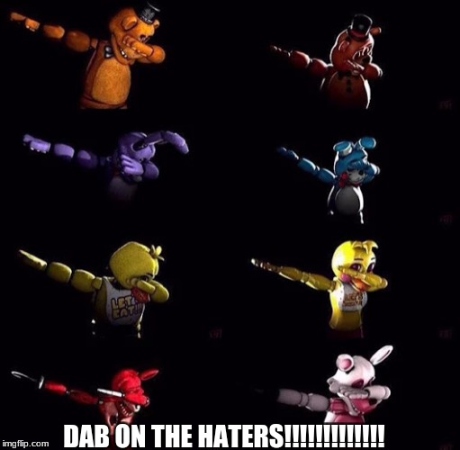 :v | DAB ON THE HATERS!!!!!!!!!!!!! | image tagged in don't,judge,me | made w/ Imgflip meme maker