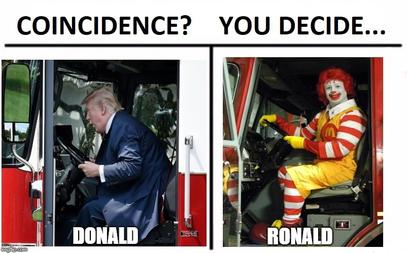 DONALD RONALD | image tagged in memes | made w/ Imgflip meme maker