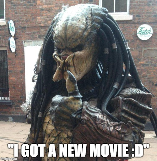 "Who else is hyped? | ""I GOT A NEW MOVIE :D"" 
