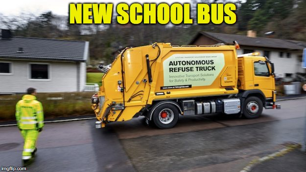 NEW SCHOOL BUS | made w/ Imgflip meme maker