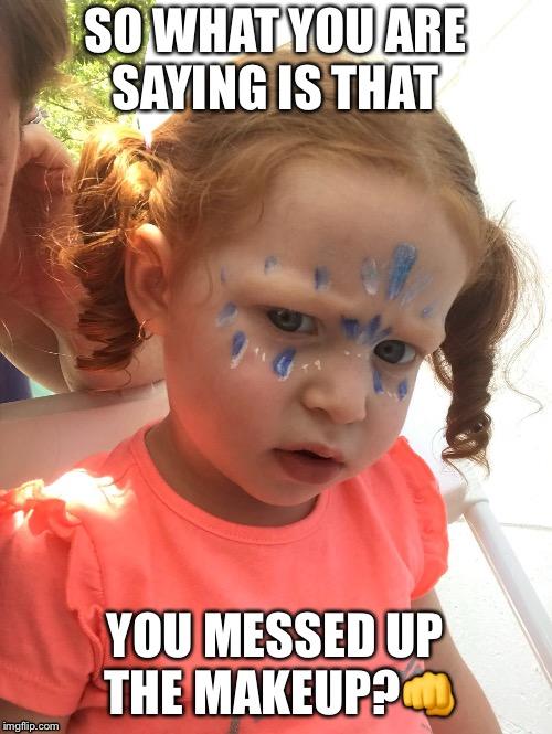 Messed Up Makeup: Makeup Messed Up