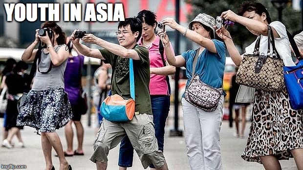 YOUTH IN ASIA | made w/ Imgflip meme maker