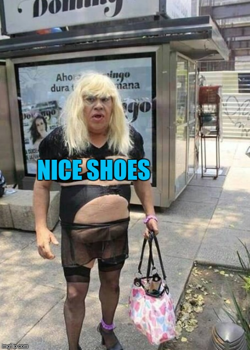 NICE SHOES | made w/ Imgflip meme maker
