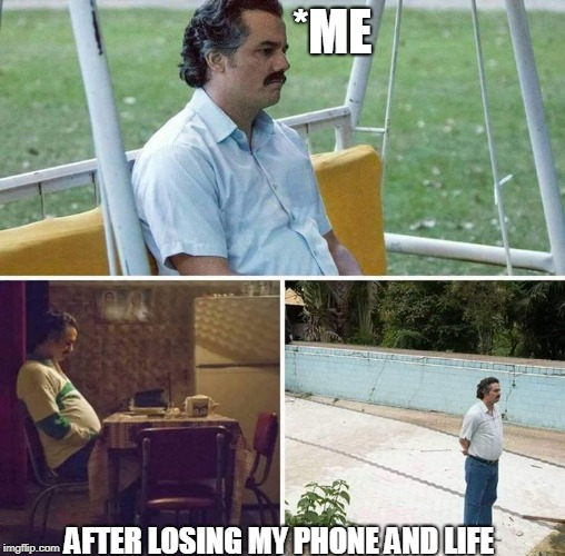 *ME AFTER LOSING MY PHONE AND LIFE | image tagged in man waiting | made w/ Imgflip meme maker