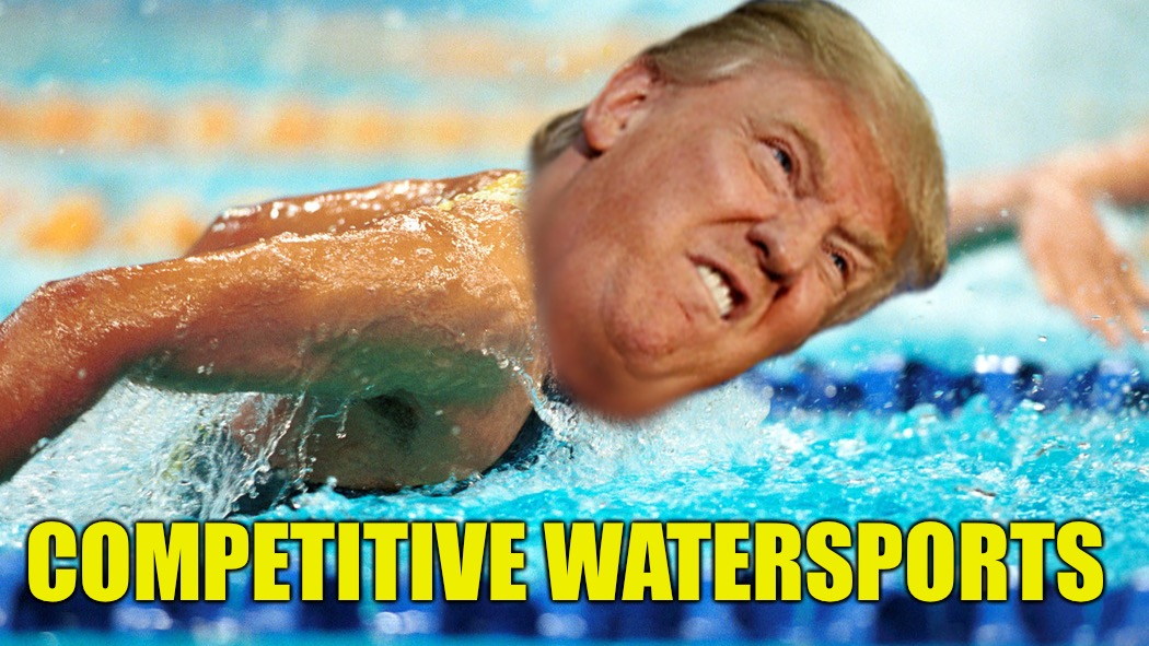 COMPETITIVE WATERSPORTS | made w/ Imgflip meme maker
