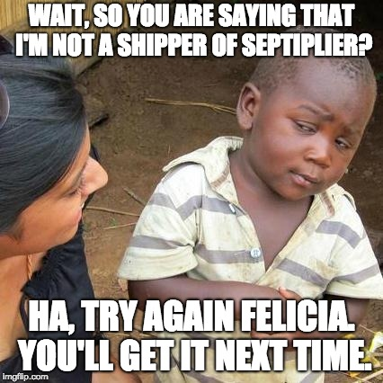 "Me When Someone Said, ""I Don't Ship Septiplier"" 