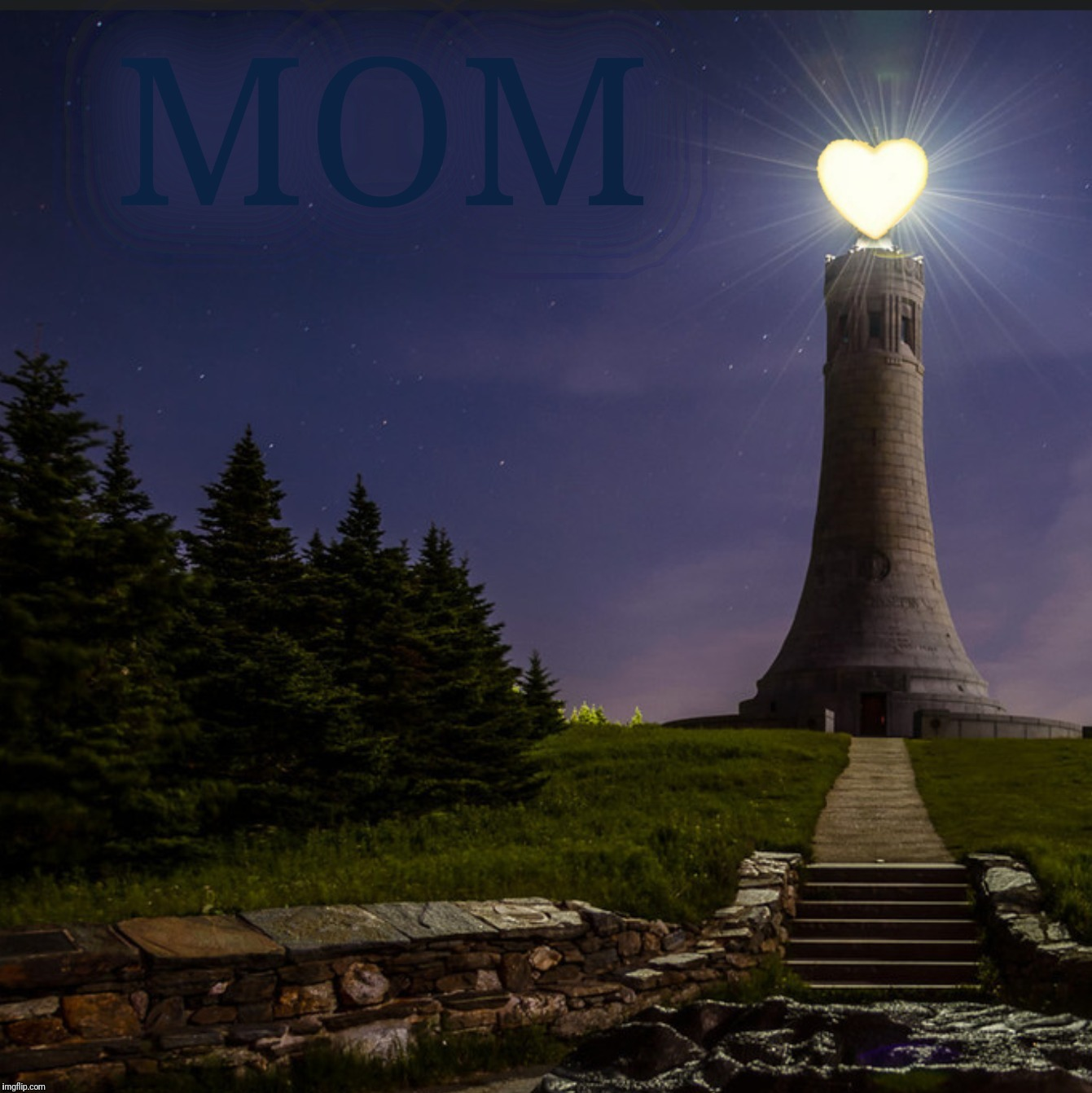 Love Lighthouse | MOM . | image tagged in love lighthouse | made w/ Imgflip meme maker
