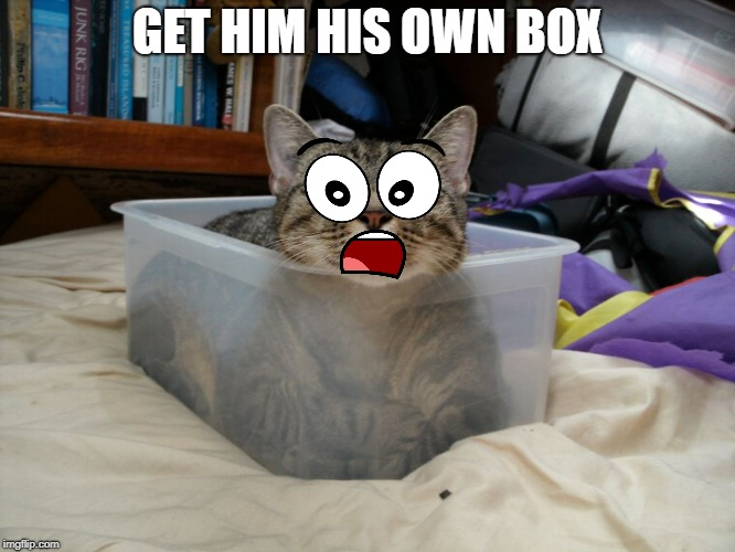 GET HIM HIS OWN BOX | made w/ Imgflip meme maker