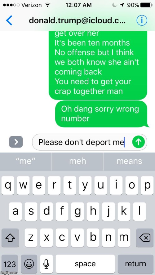 donald.trump@deport.com | image tagged in donaldtrumpdeportcom | made w/ Imgflip meme maker