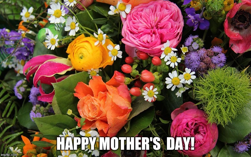 Happy Mother's Day! | HAPPY MOTHER'S  DAY! | image tagged in memes,flowers,holidays,mother's day,mother,happy mother's day | made w/ Imgflip meme maker