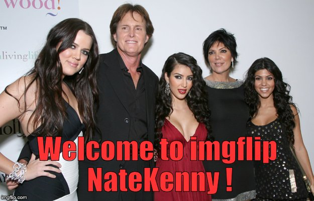 Jenner Christmas | Welcome to imgflip NateKenny ! | image tagged in jenner christmas | made w/ Imgflip meme maker