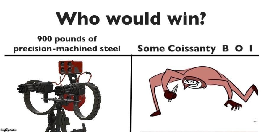 "some guy in a match said:""get away from my sentry croissant boy"" 