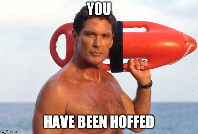 YOU HAVE BEEN HOFFED | made w/ Imgflip meme maker